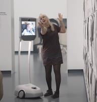Bezoek of rondleiding met robot